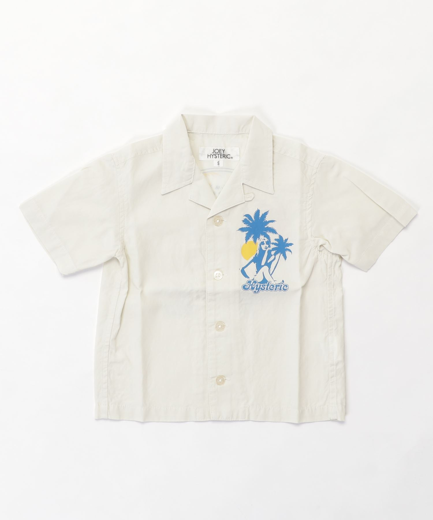 ISLAND DAYS pt 半袖オープンカラーシャツ【S/M】