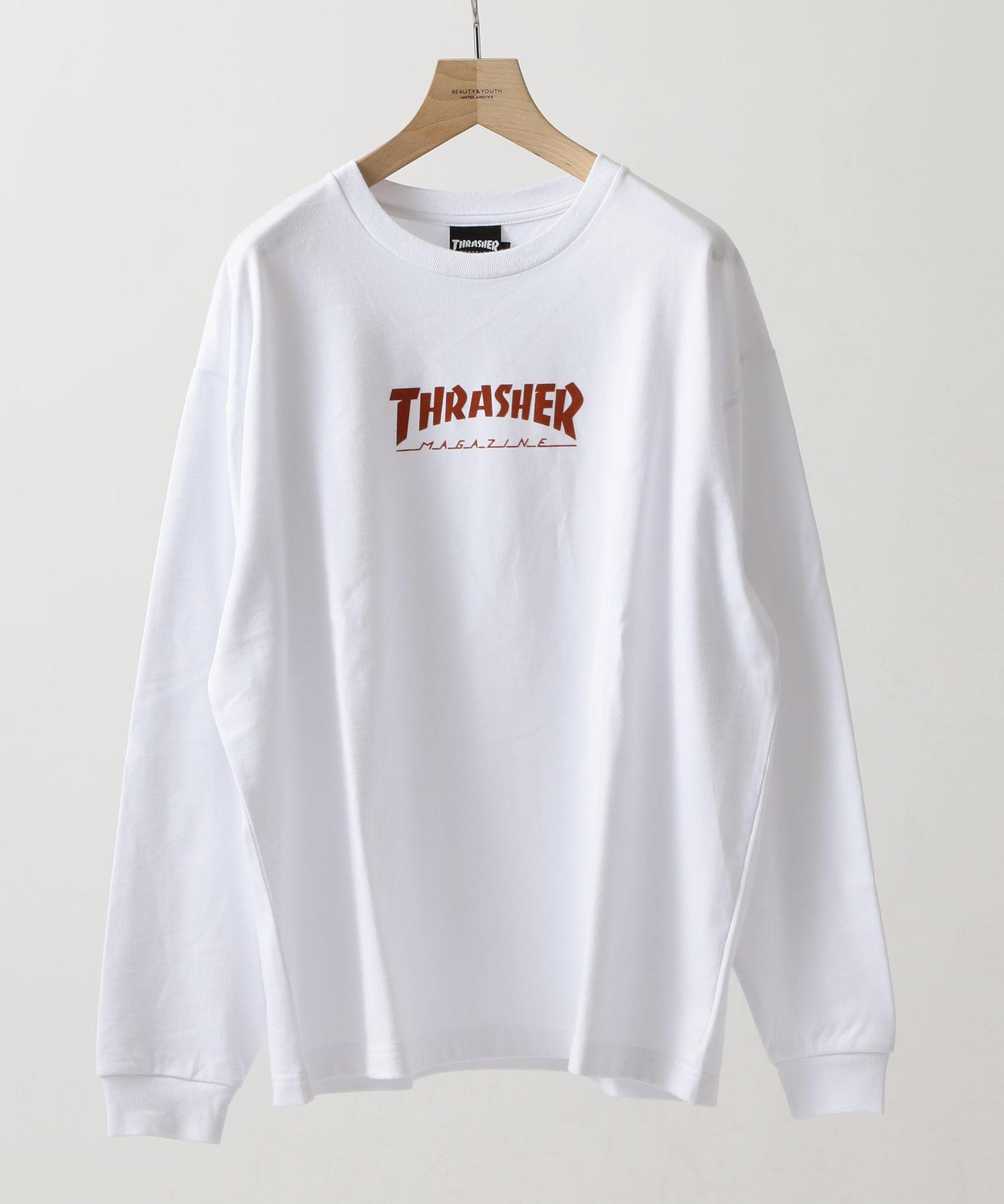 商品詳細 別注 thrasher long sleeve tee tシャツ