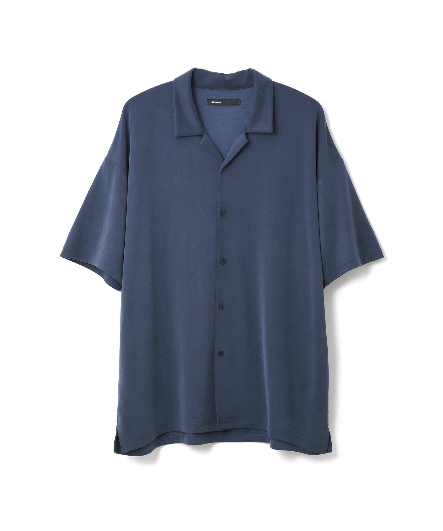 08 SIRCUS / フィブリルキュプラ オープンカラーシャツ《ESTNATION EXCLUSIVE》