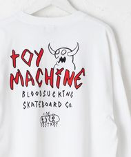 トイマシーン TOY MACHINE / MONSTER MARKED EMBRO  ロングスリーブTee