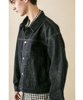 <monkey time> SELVAGE DENIM TRUCKER JACKET/トラッカージャケット