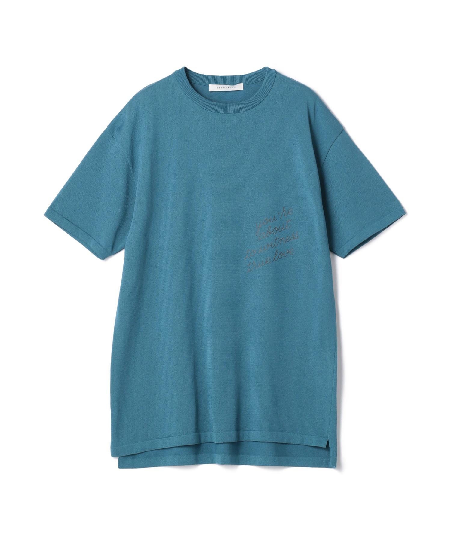JEAN ANDRE / ニットTシャツ