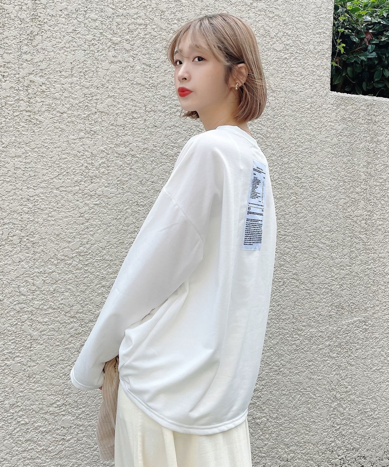 【Voyage titty&Co.】バックレターロンTee