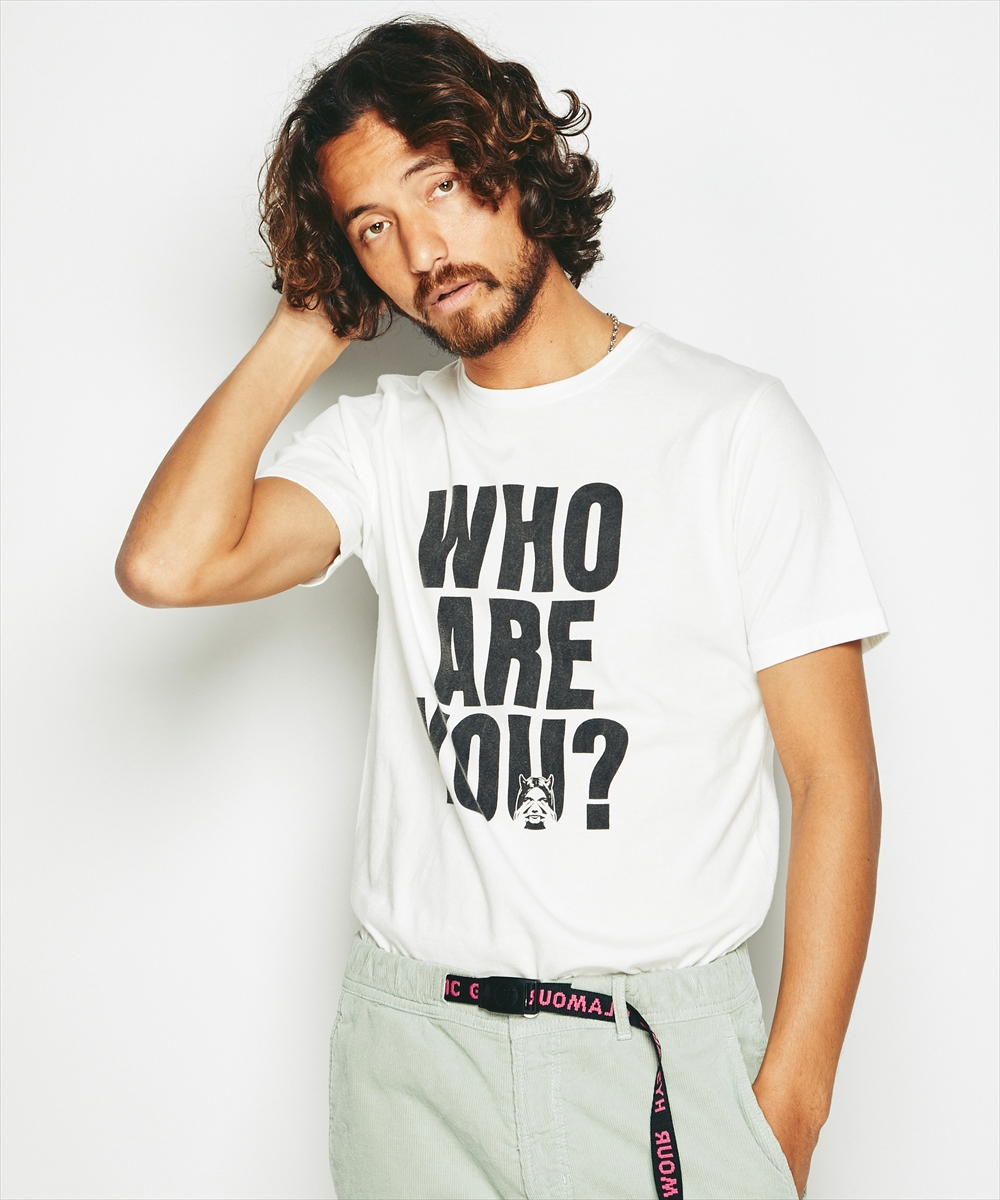 WHO ARE YOU ? プリント Tシャツ