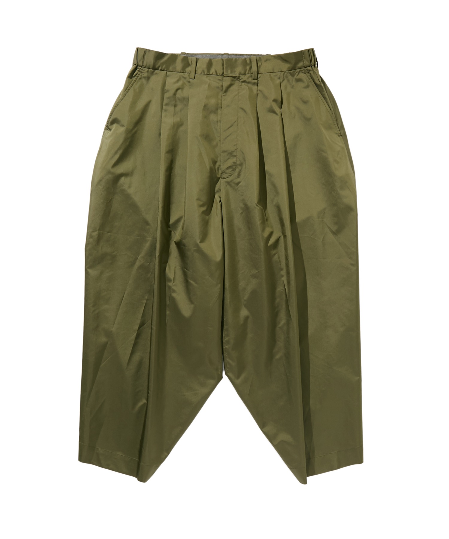 SPRING2020 CROPPED WIDE TAPERED PANTS