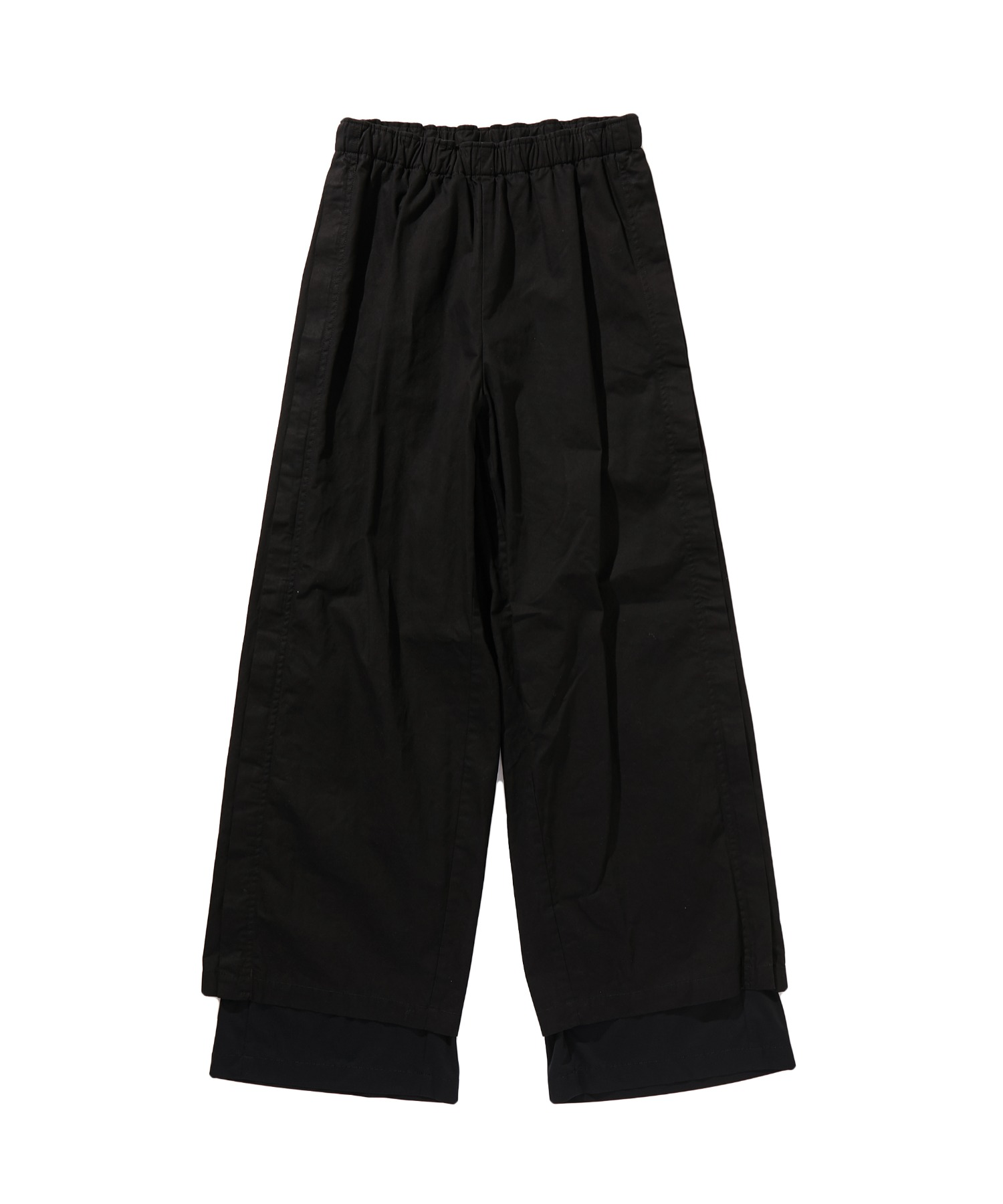 SPRING2020 LAYERED WIDE EASY PANTS