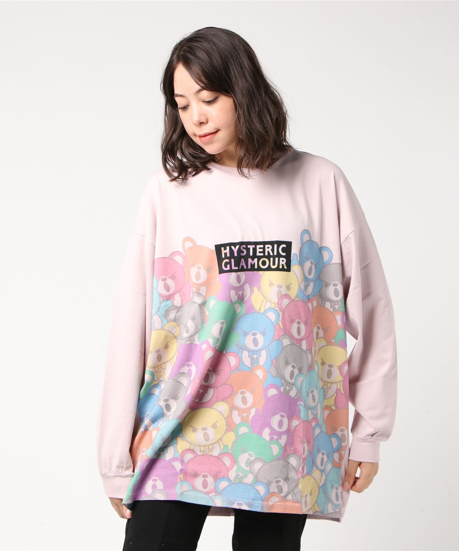 BEAR CARNIVAL ビッグTシャツ