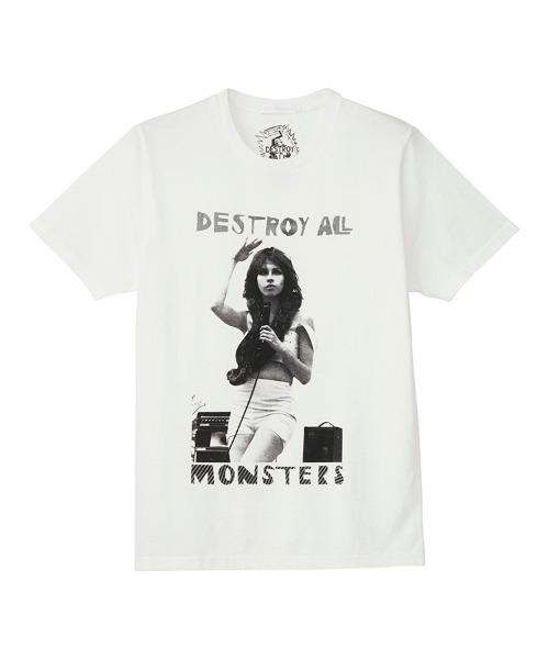 DESTROY ALL MONSTERS/NIAGARA W SNAKE Tシャツ