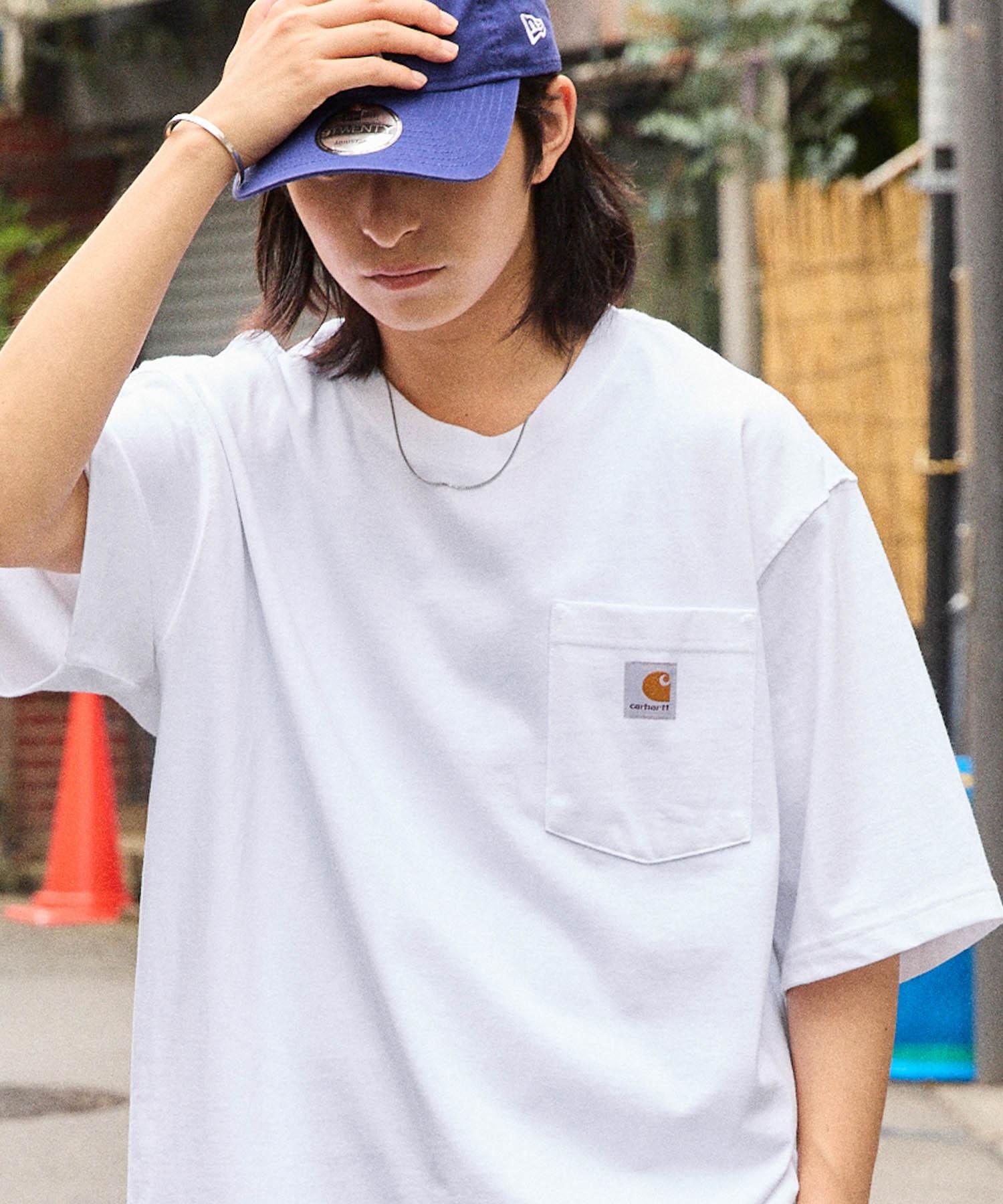 carhartt(カーハート) ビッグシルエット ポケット半袖 ロゴ Tシャツ Workwear Pocket 1/2 Sleeve T-Shirts