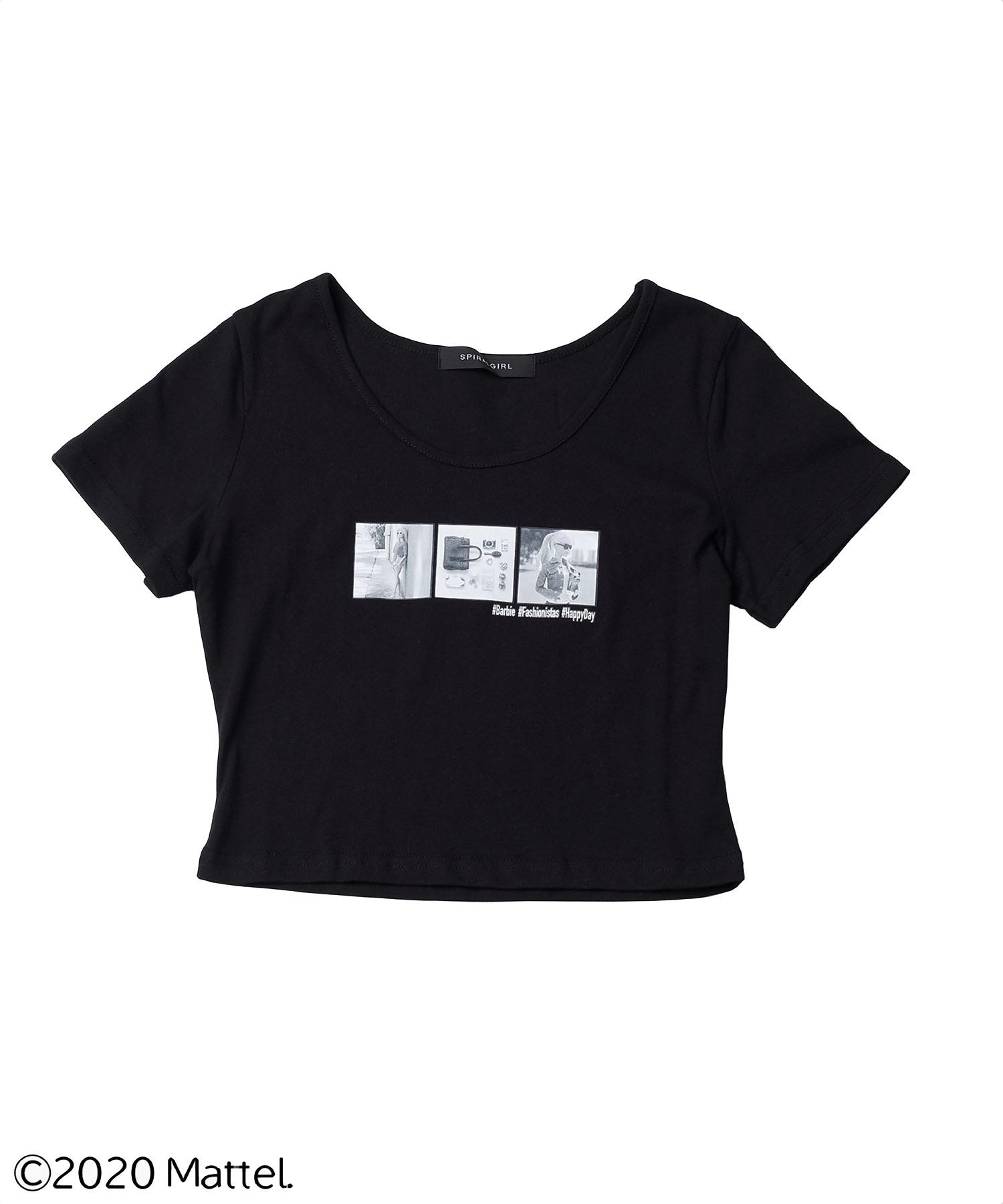 【バービー】ショート丈Tシャツ