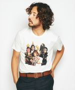THE ROLLING STONES/J-J-F プリント Tシャツ