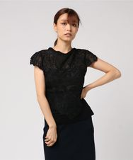 BUTTERFLY WOMAN LACE Tシャツ