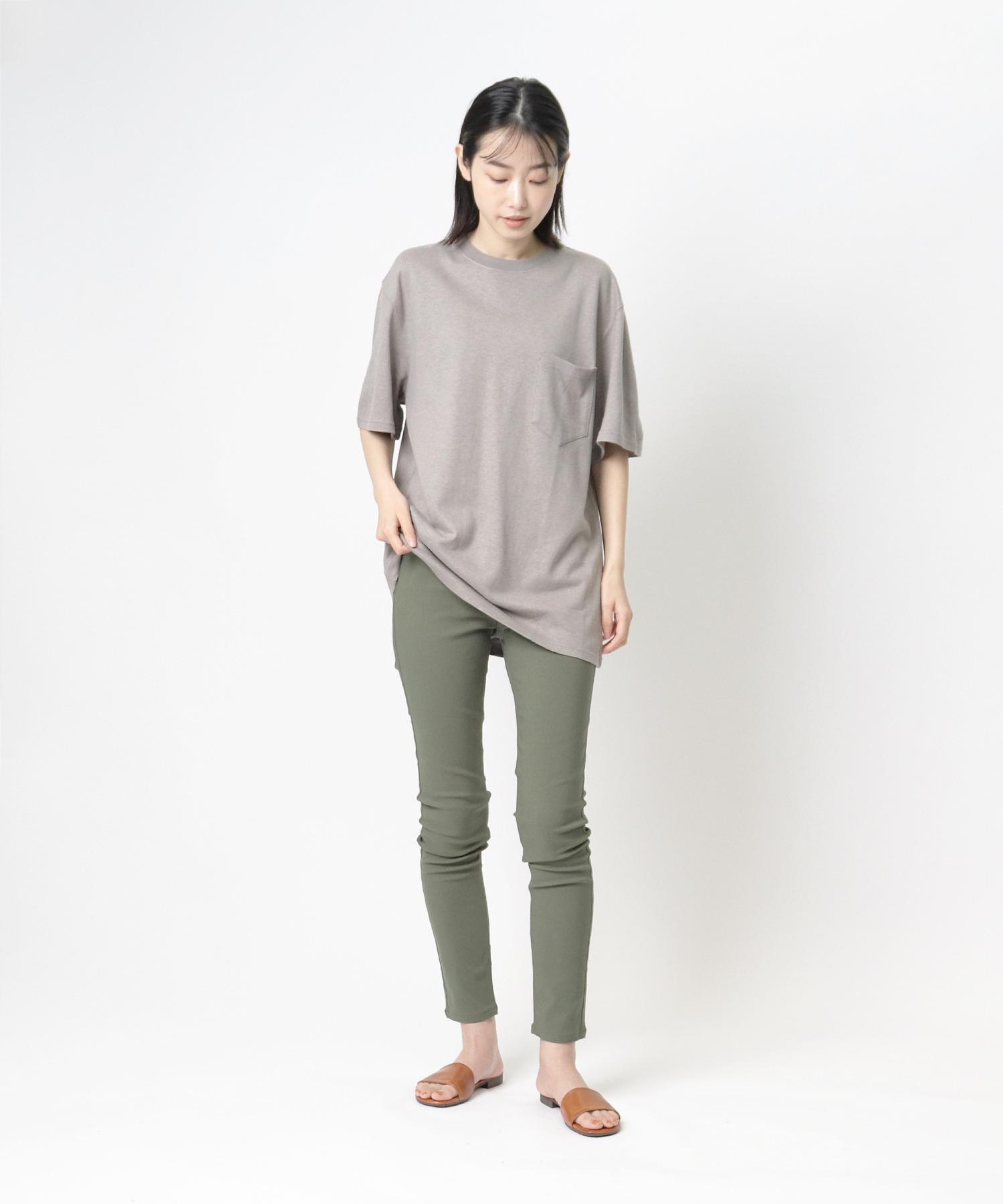 【 GOODWEAR / グッドウェア 】レギュラーフィット 半袖クルーネックポケットTシャツ ヘンプコットン