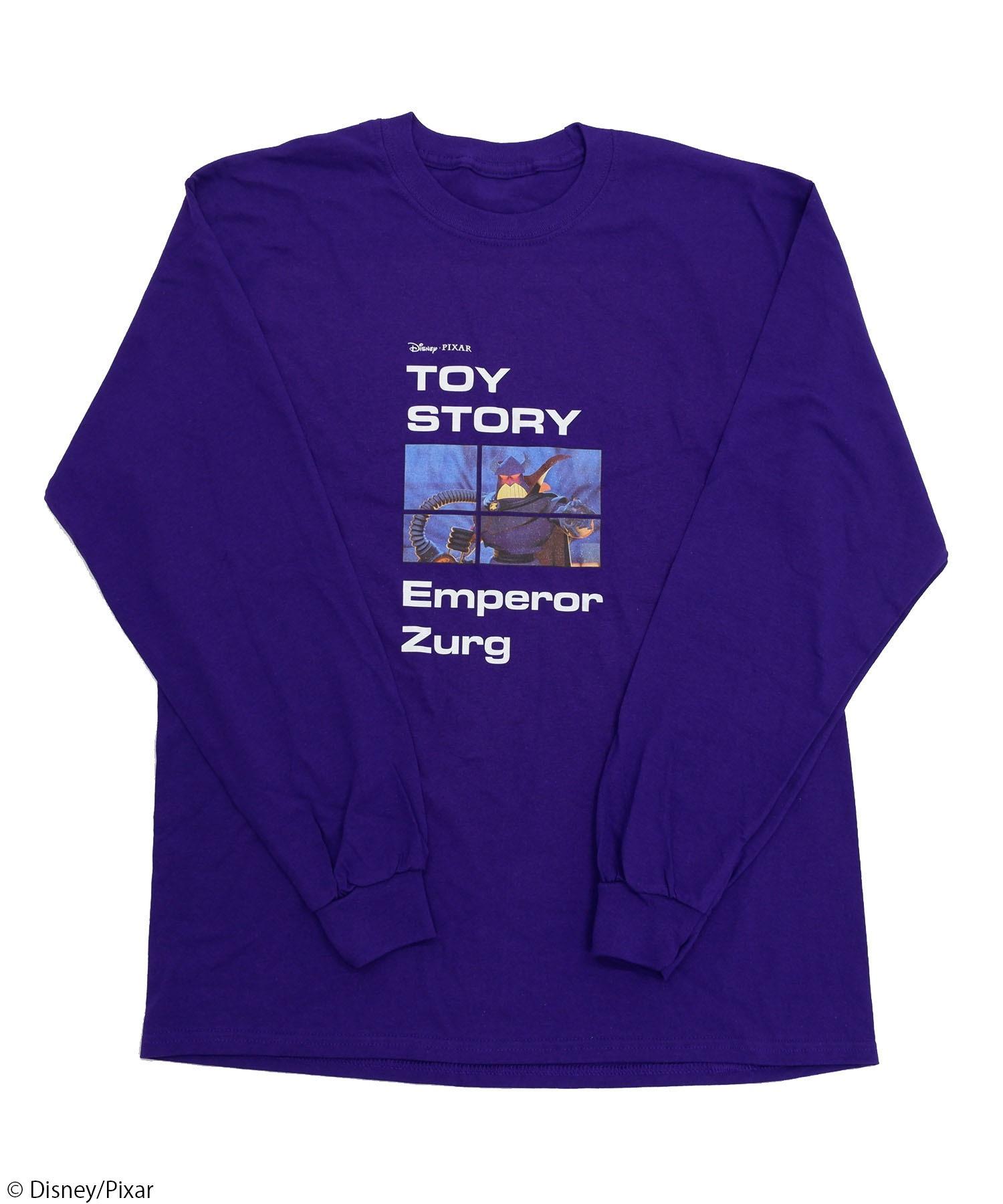 【Disney/Pixar/ディズニー&ピクサー/トイ・ストーリー/ザーグ】ロングTシャツ