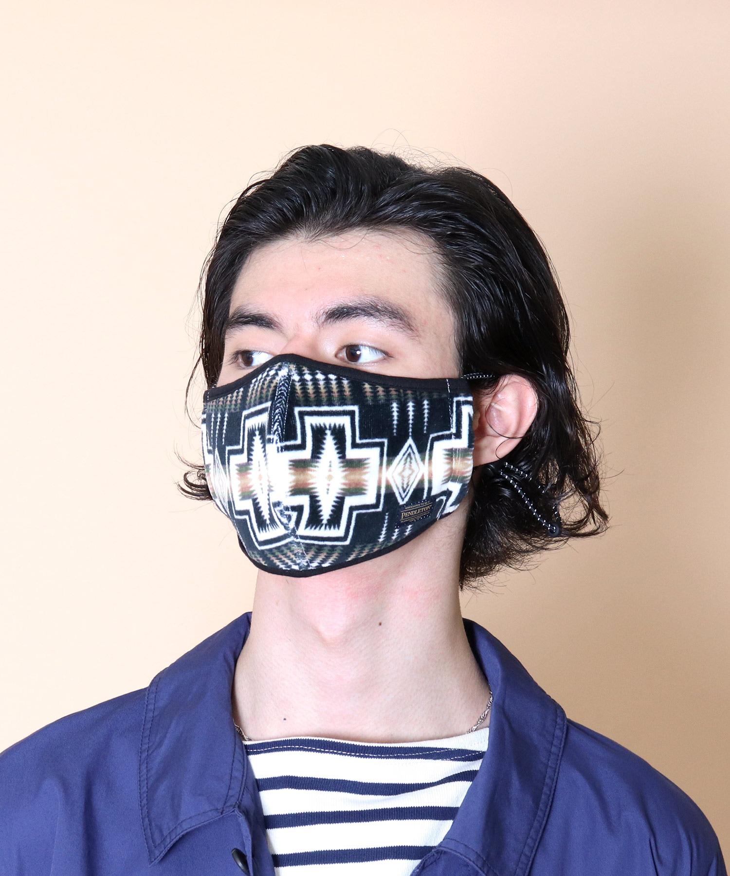 【 PENDLETON / ペンドルトン 】pile fabric mask パイルマスク