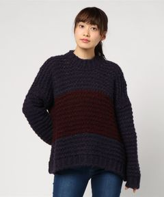 【LOA BY LOA】STRIPE SWEATER
