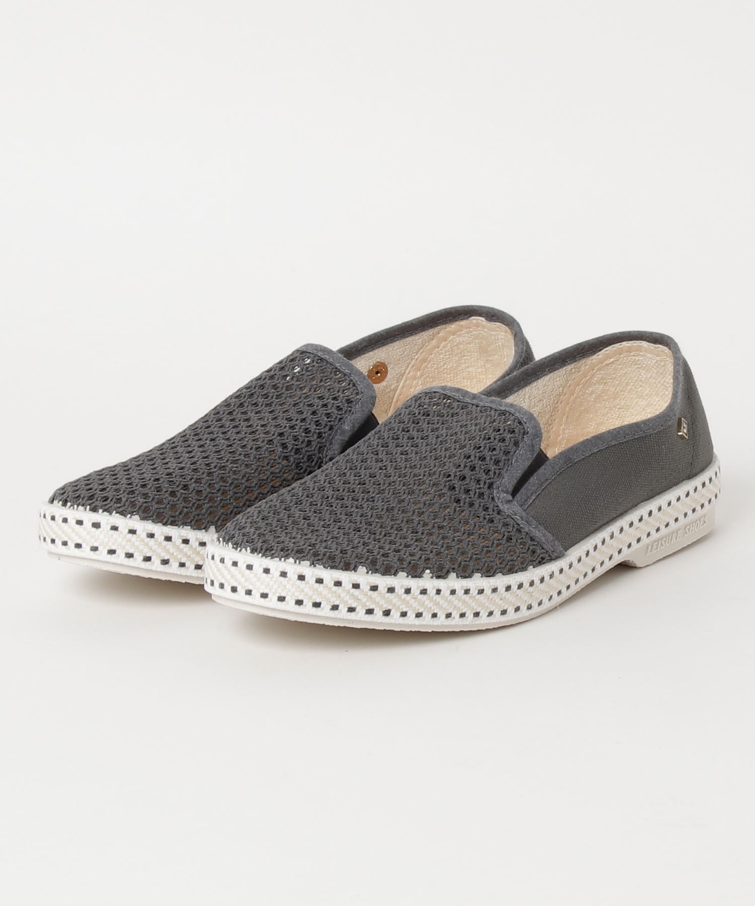 """RIVIERAS LEISURE SHOES / """"CLASSIC 20 ANTHRACITIE"""" メッシュスリッポン"""