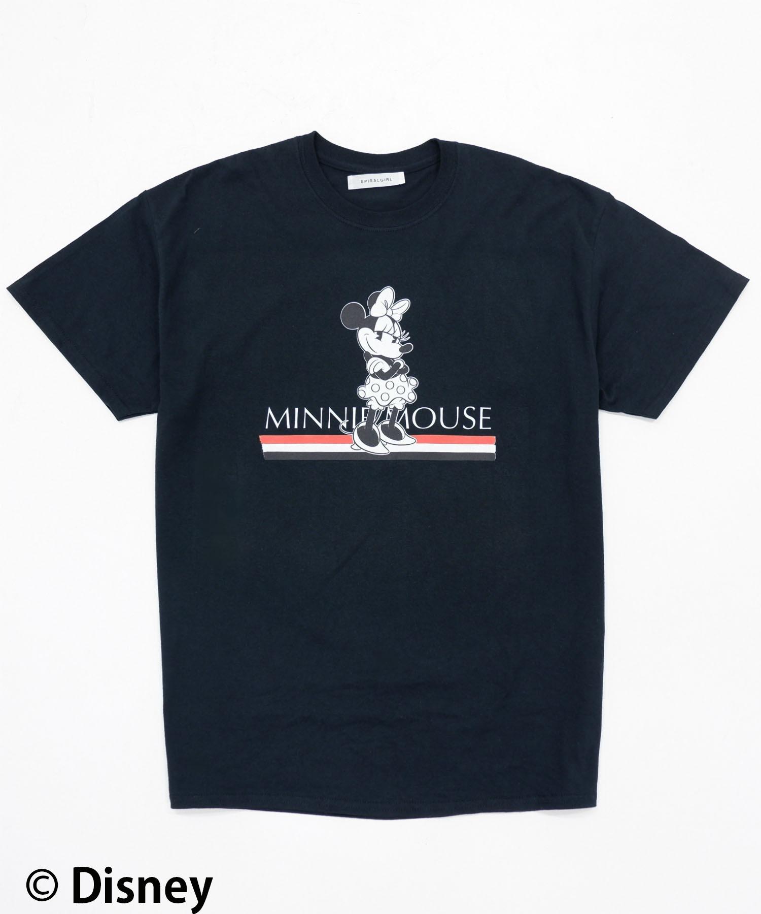 【Disney(ディズニー)/ミニーマウス】Tシャツ