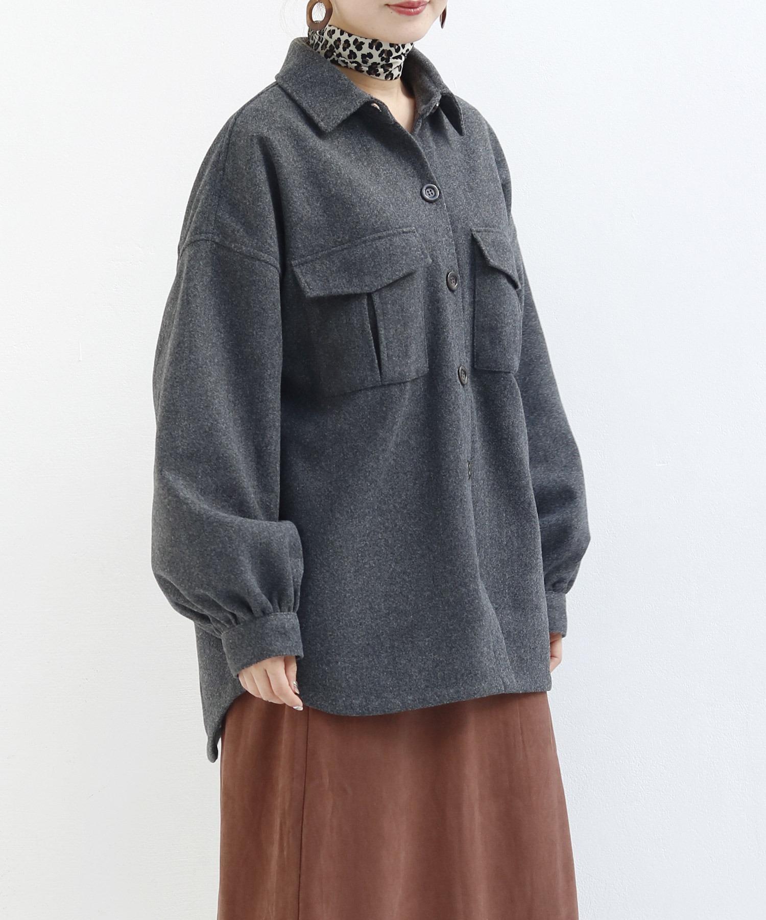フェイクウールCPOジャケット