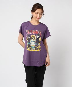 THE CRAMPS/TEENAGE PSYCHO pt ビッグTシャツ