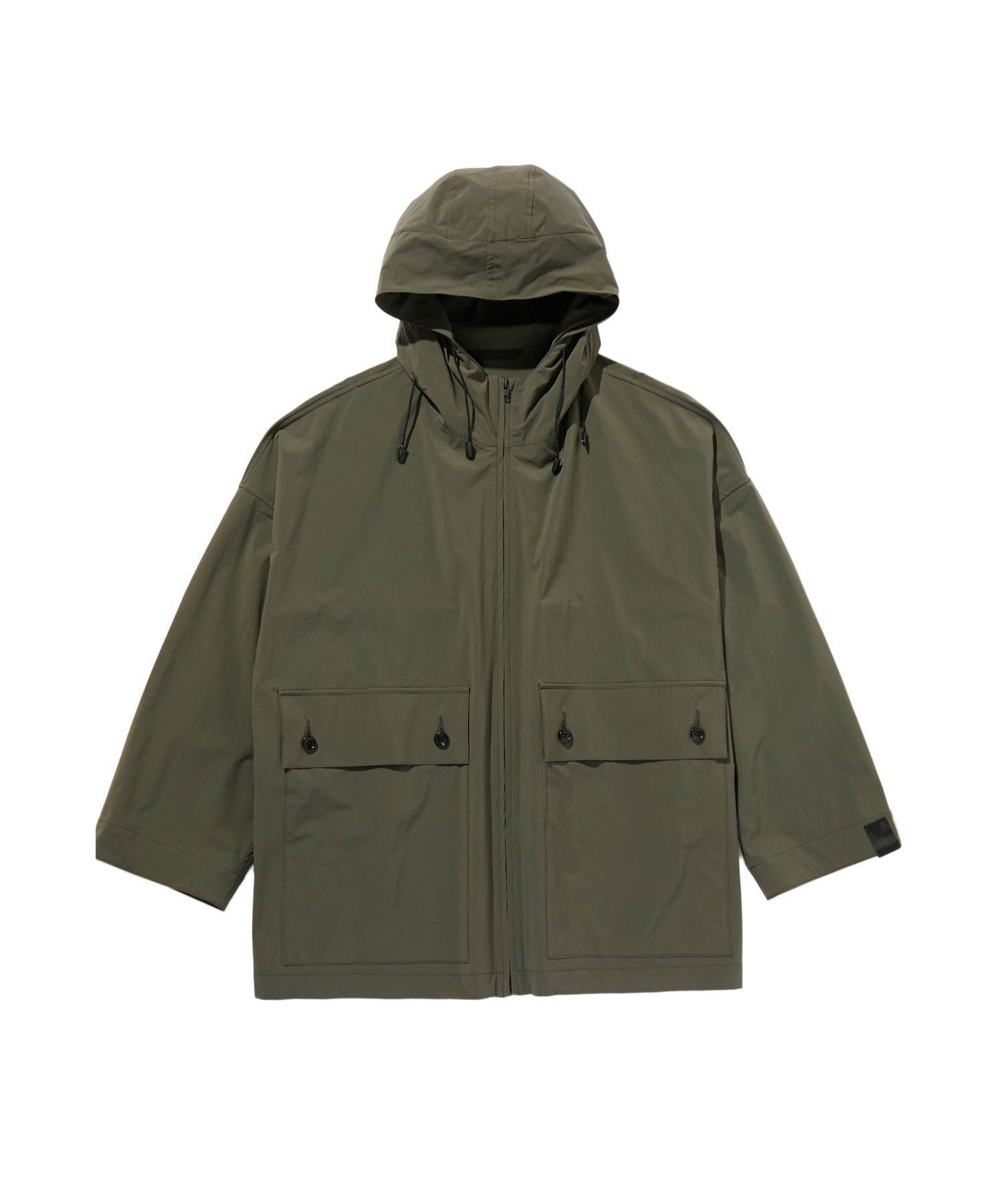 SPRING2020 HOODED HALF COAT