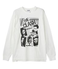 THE CLASH/KING'S HALL DERBY pt リブ付Tシャツ