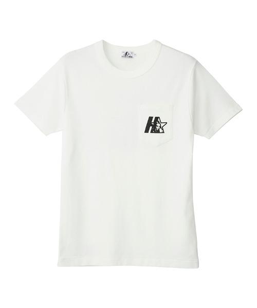 STAR WOMAN ポケット付きTシャツ