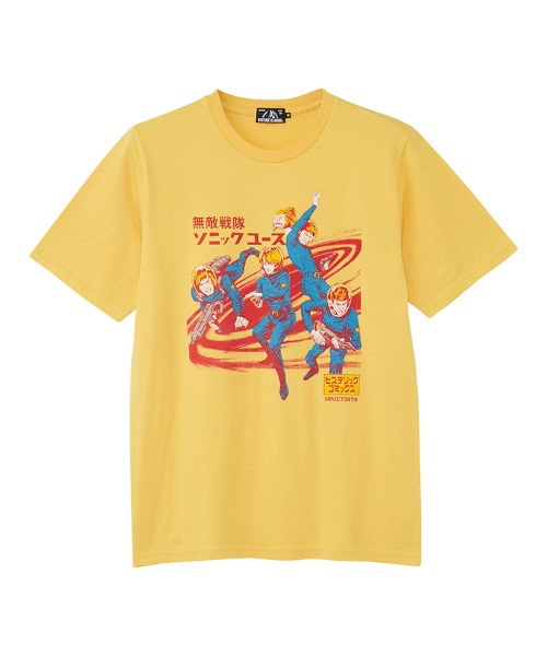 SONIC YOUTH/HYSTERIC COMICS Tシャツ