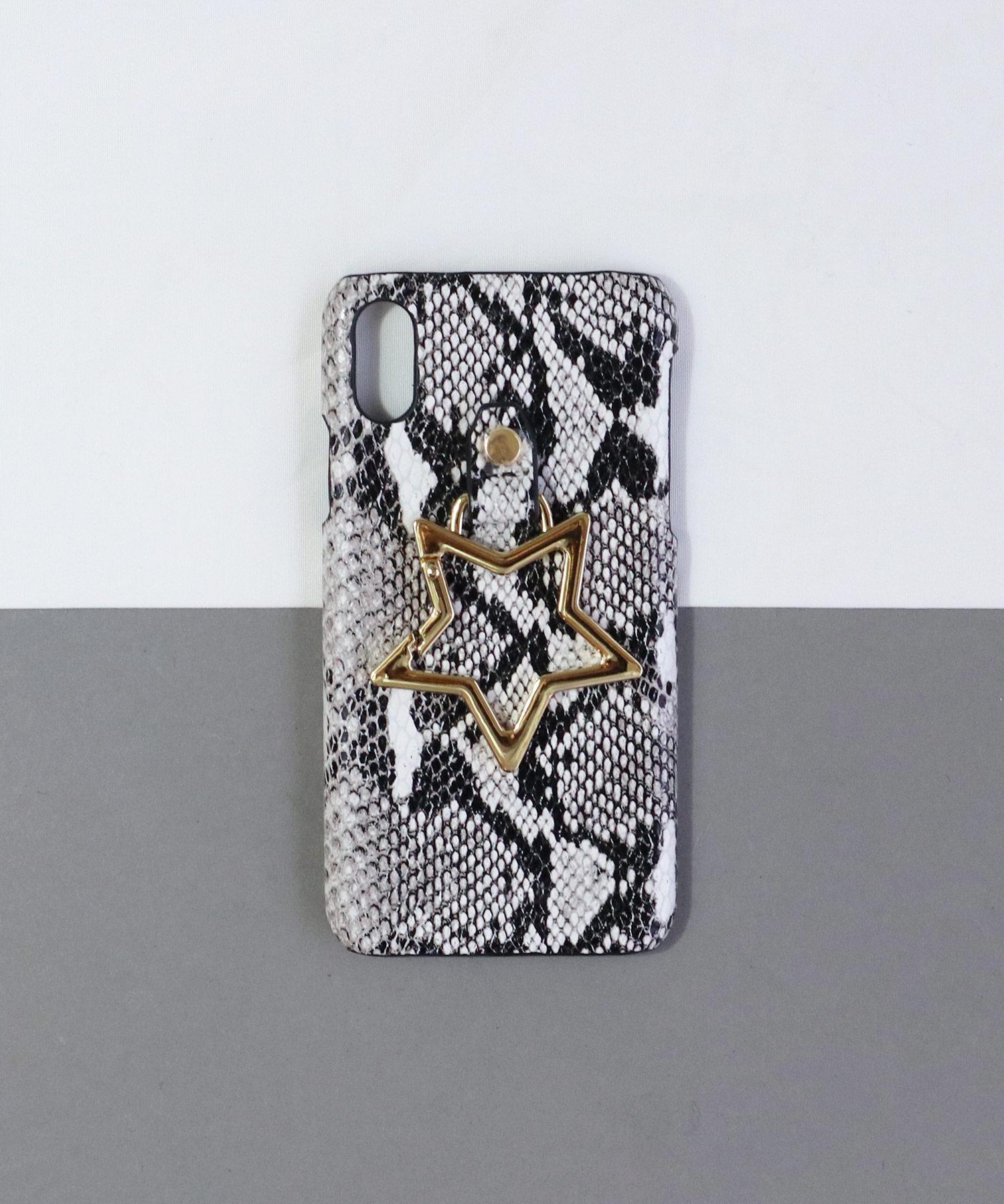 【 Hashibami / ハシバミ 】 # iPhone X/XS スマホ・携帯カバー リング付きケース