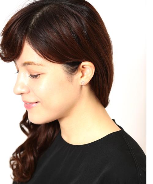 【WEB限定】SV片耳用ピアス