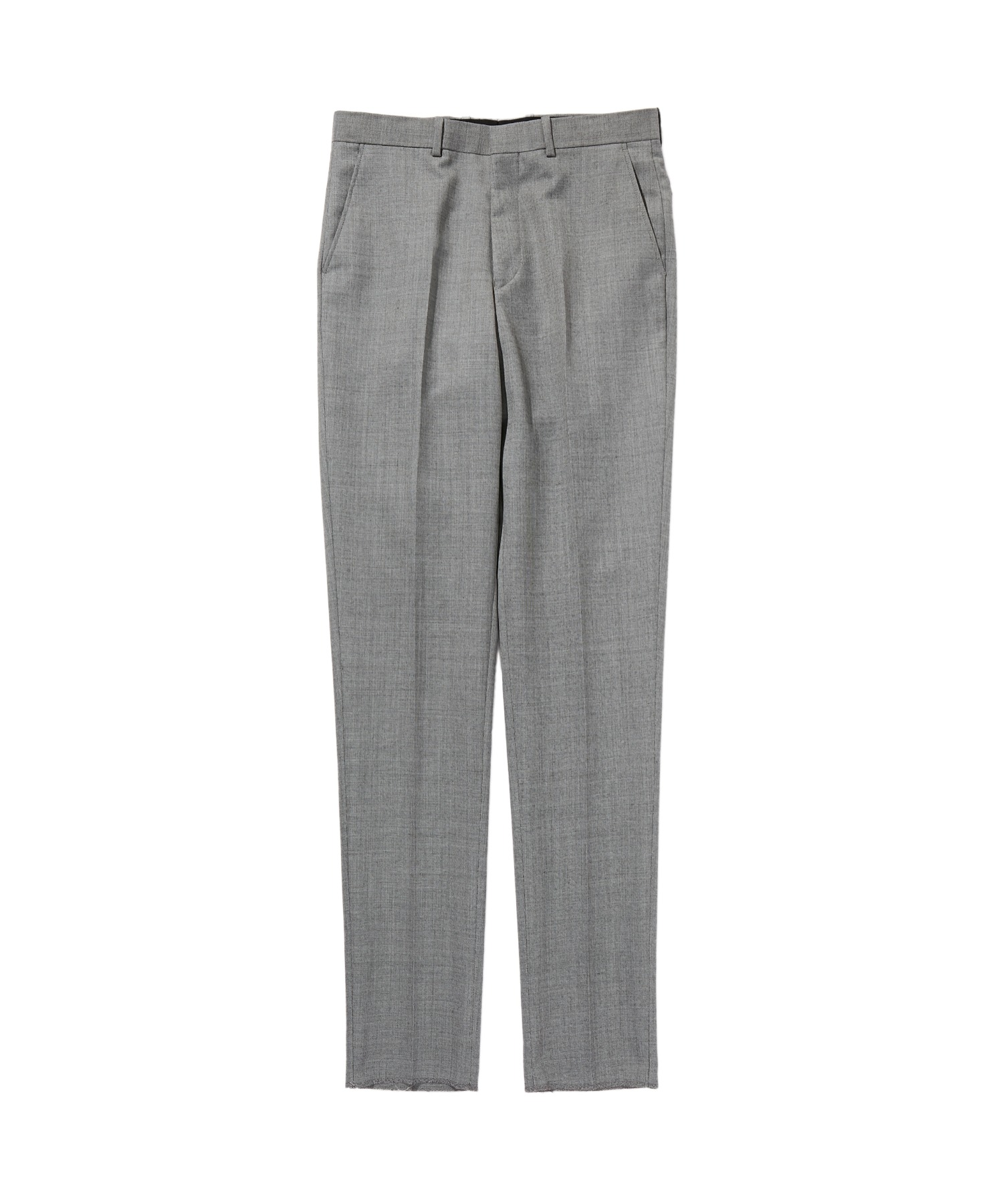 SPRING2020 SLIM TAPERED SLACKS