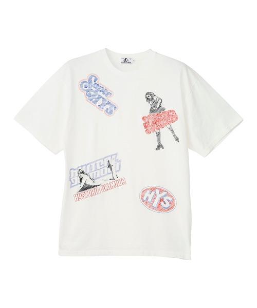 HYS BOX刺繍 Tシャツ