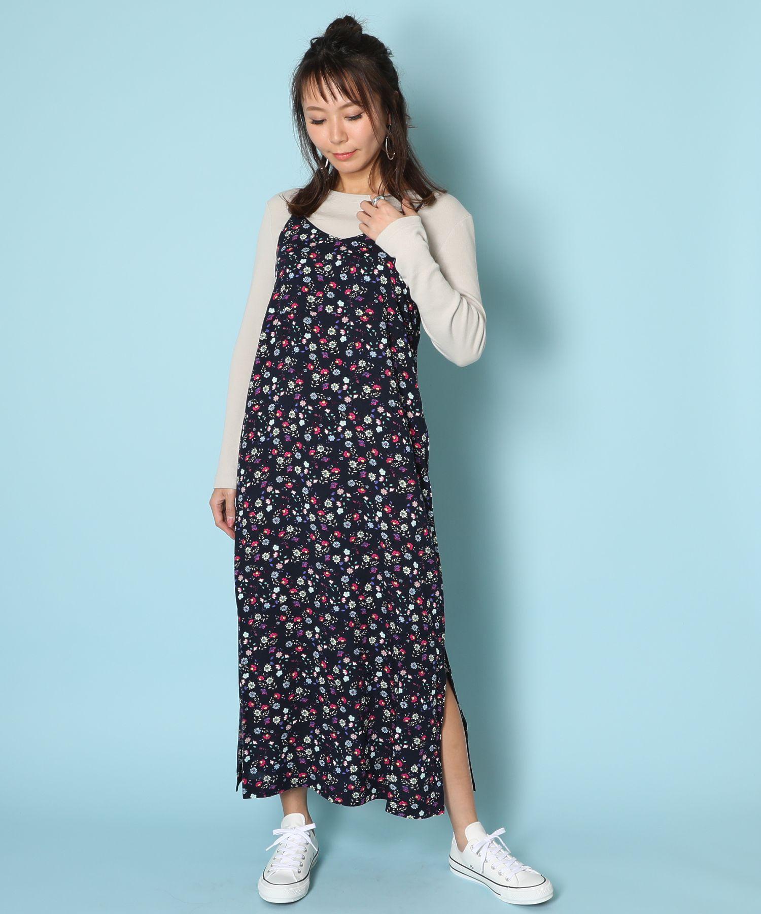 アメリカンラグシー AMERICAN RAG CIE / フラワーキャミドレス Flower Cami Dress