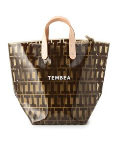 "TEMBEA / ""DELIVERY TOTE PVC"" トートバッグ"