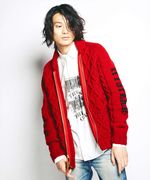CANADIAN SWEATER×HYSTERIC/HYSTERIC FACE編込 カウチン