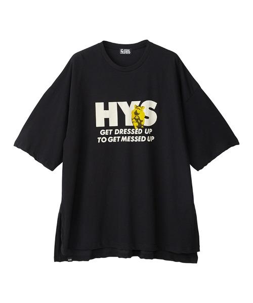 GET DRESSED UP オーバーサイズTシャツ