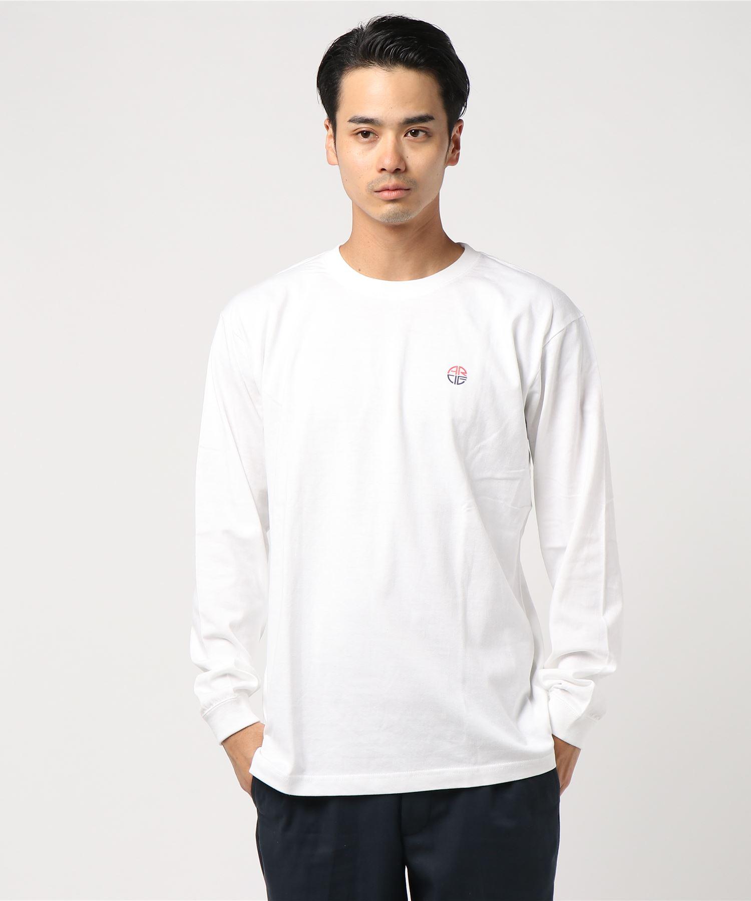 American Rag Cie ARC Block Logo Print Longsleeve T Shirt/アメリカンラグシー ARCブロックロゴプリントロンT
