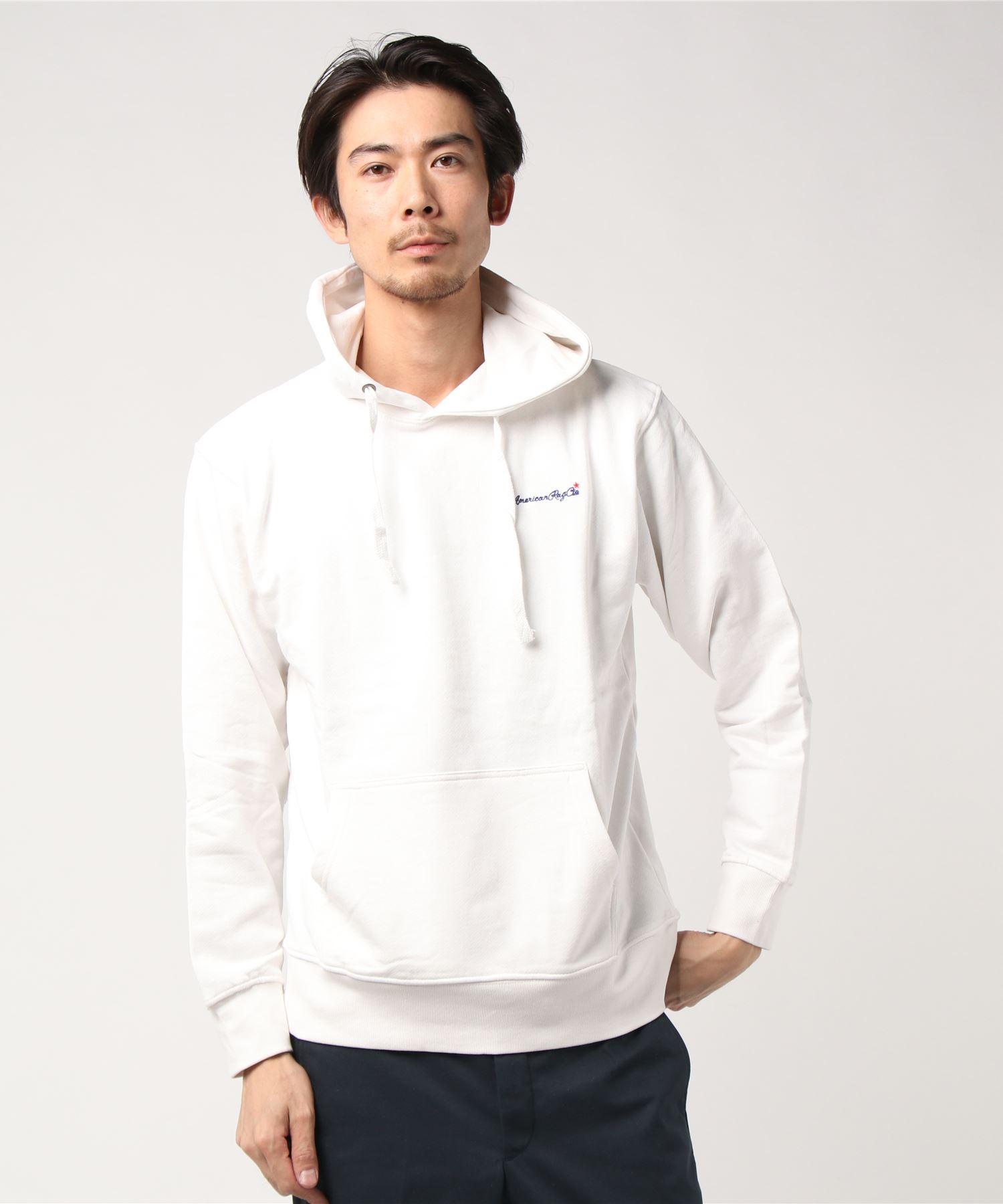 AMERICAN RAG CIE ARC Script Logo Embroidery Hooded Sweatshirt/アメリカンラグシー ARCスクリプトロゴエンブロイダリーフードパーカ