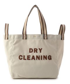 "ANYA HINDMARCH / ""Dry Cleaning Household Tote"" トートバッグ"