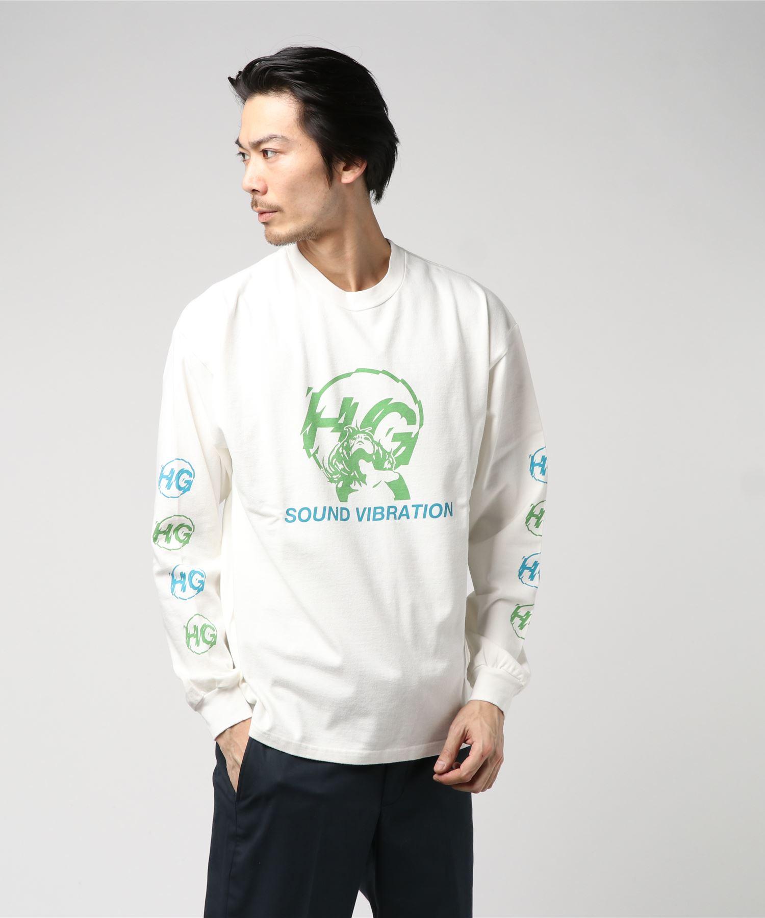 HG SOUND VIBRATIONリブ付Tシャツ
