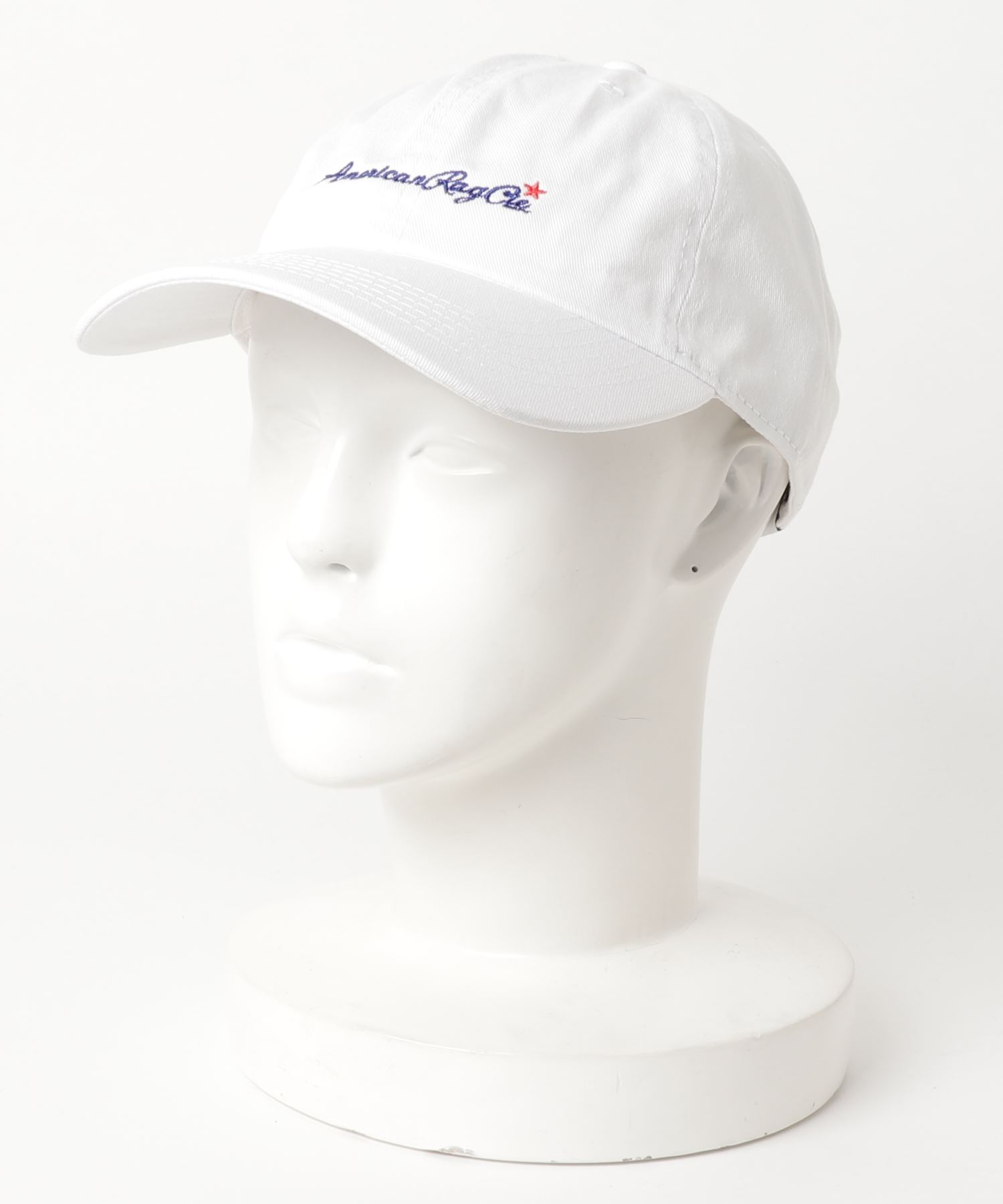 AMERICAN RAG CIE ARC Script Logo Embroidery Cotton Twill Cap/アメリカンラグシー ARCスクリプトロゴエンブロイダリーコットンツイルキャップ