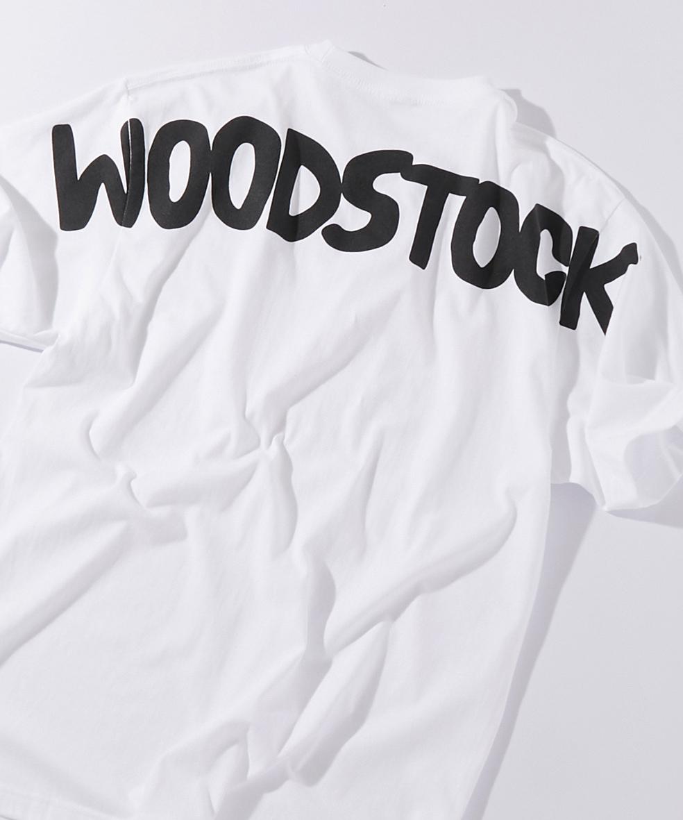 アメリカンラグシー AMERICAN RAG CIE / ウッドストック WOODSTOCK バックプリントT