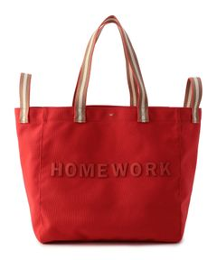 "ANYA HINDMARCH / ""Homework Household Tote"" トートバッグ"