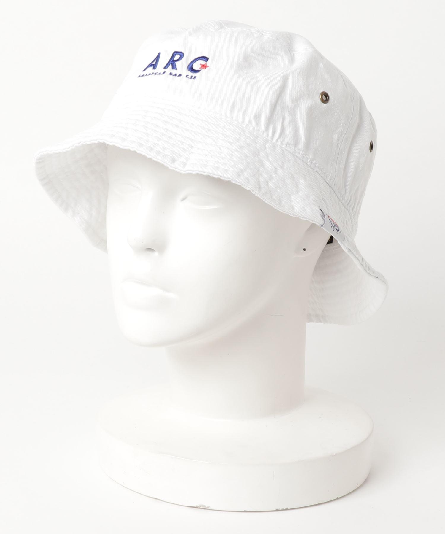 AMERICAN RAG CIE ARC Simple Logo Embroidery Cotton Bucket Hat/アメリカンラグシー ARCシンプルロゴエンブロイダリーコットンバケットハット
