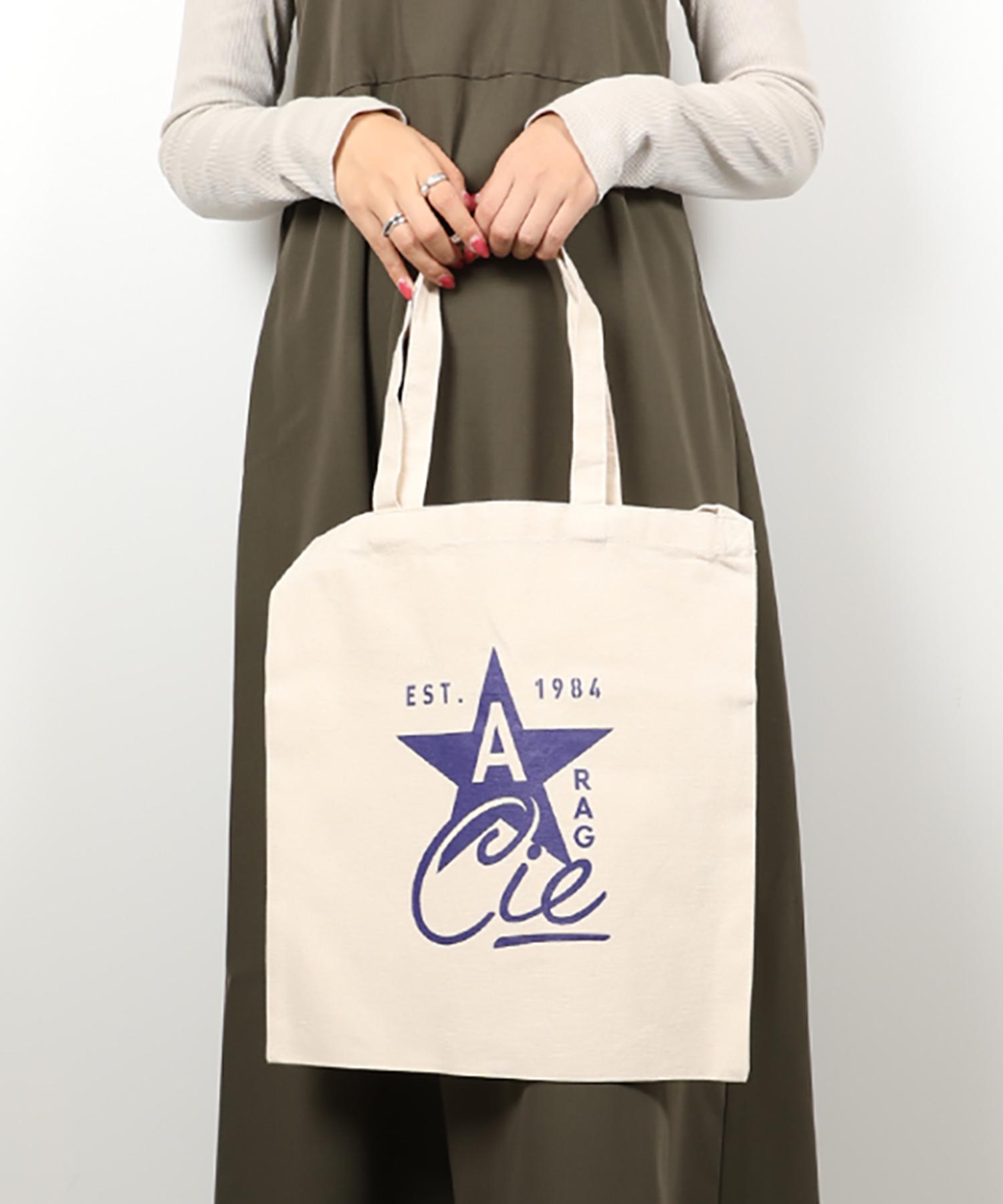 AMERICAN RAG CIE ARC Star Logo Print Cotton Canvas 2way Totebag/アメリカンラグシー ARCスターロゴプリント2WAYコットンキャンバストート