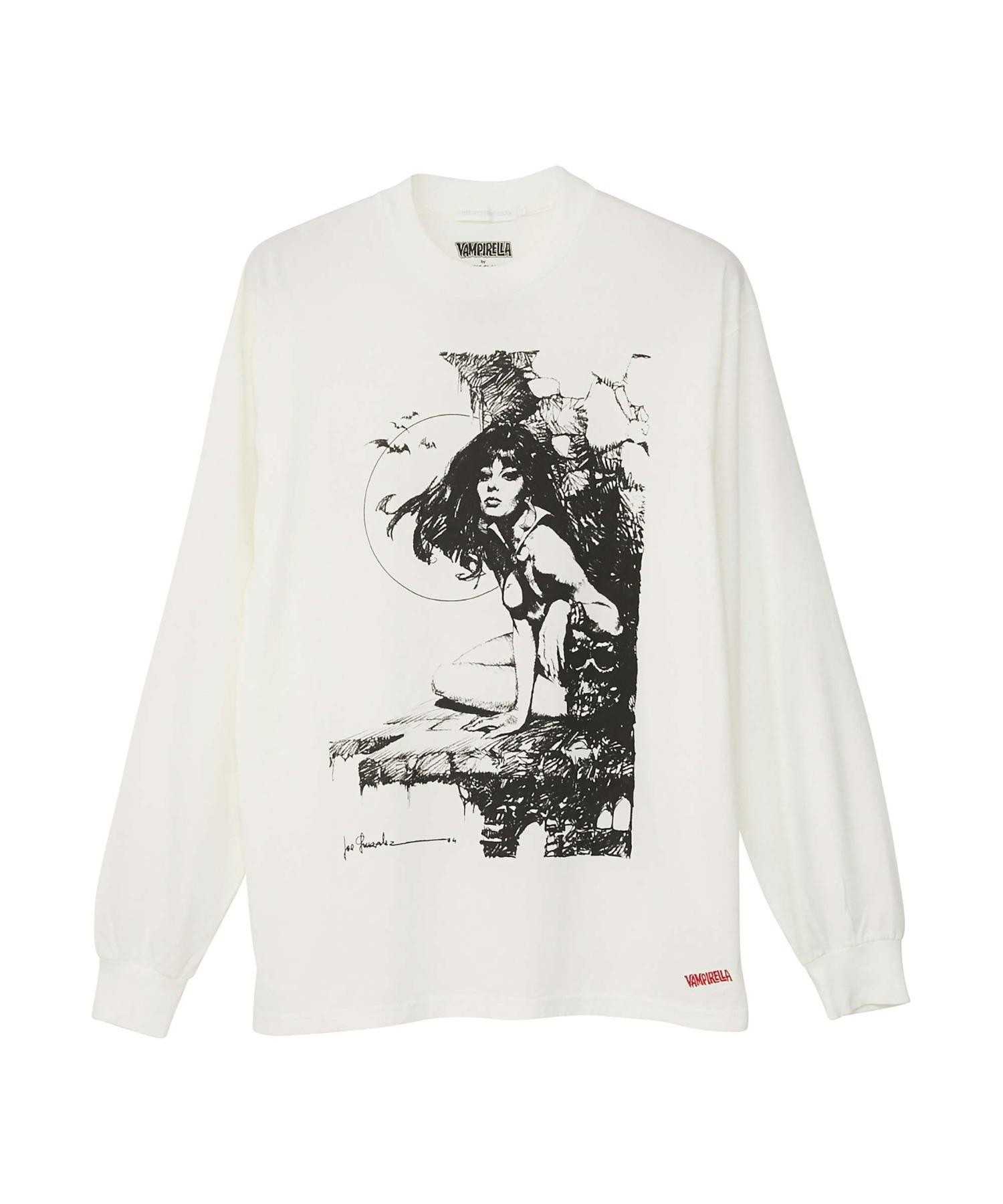 VAMPIRELLA/#39 SKULL Tシャツ