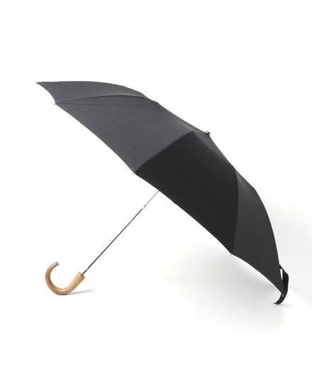 FOX UMBRELLAS 折りたたみ傘 Telescopic Umbrella Maple Solid Colur