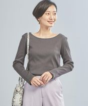 【WORK TRIP OUTFITS】★WTO シャイニーテレコ Uネック