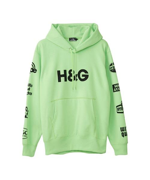 H&G オーバーサイズパーカー