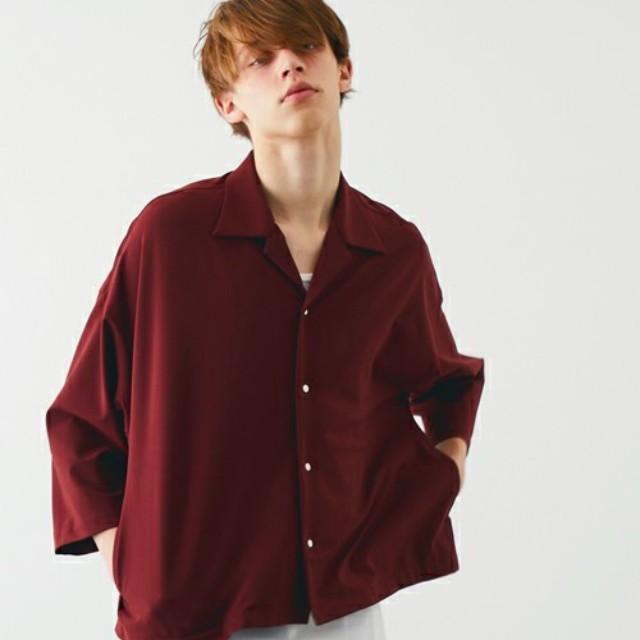 00933c04d28a80 Smartlog(スマートログ)のファッションまとめ「赤シャツでメンズコーデを鮮やか